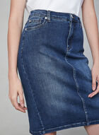 5-Pocket Jean Skirt, Blue