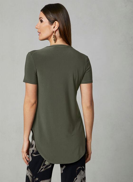 Joseph Ribkoff - Short Sleeve Top, Green, hi-res