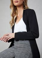 Madison Mixed Print Pants, Black, hi-res