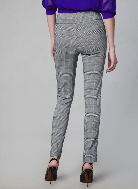 Joseph Ribkoff - Pantalon motif Prince-de-Galles, Noir, hi-res
