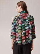 Joseph Ribkoff - Abstract Print Blazer, Multi