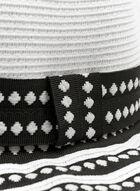 Large Brim Hat, Black, hi-res
