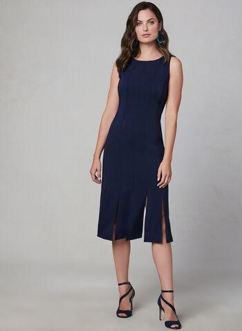 Maggy London - Sleeveless Midi Dress, Blue, hi-res,  fall winter 2019, crepe, fully lined, sleeveless, midi