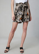 Jules & Leopold - Tropical Print Shorts, Brown, hi-res