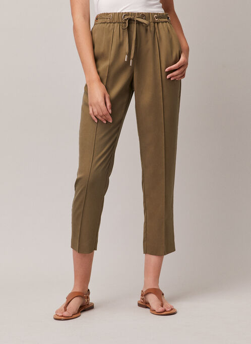 Pantalon Emma en tencel, Vert