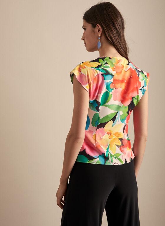 Joseph Ribkoff - Floral Print Top, Multi