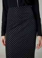 Joseph Ribkoff - Stud Detail Pencil Skirt, Blue, hi-res