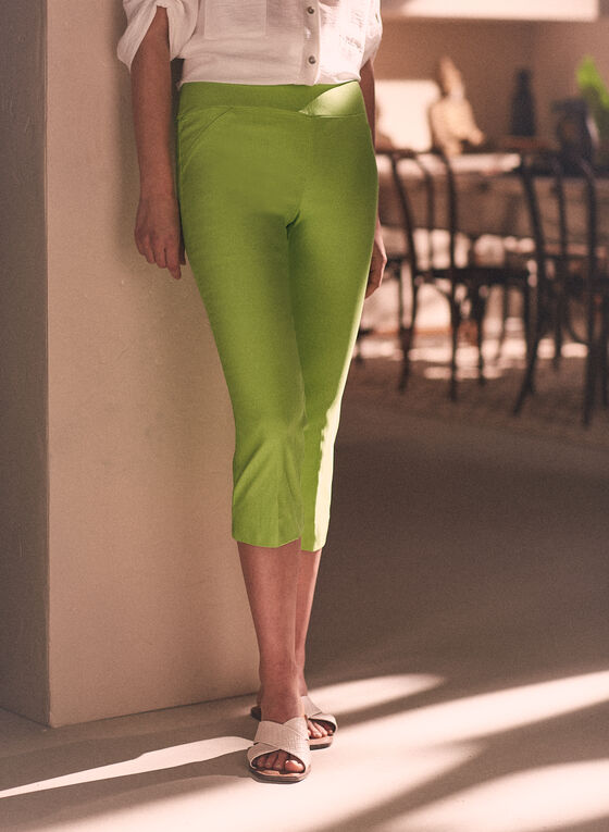 Chapter One - Pull-On Capris, Green