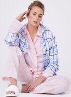 U.S. Polo Assn. - Chemise de nuit à carreaux , Bleu, hi-res