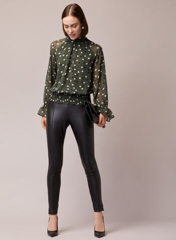 Legging Madison en cuir végane, Noir,  legging, cuir végane, pull-on, madison, automne hiver 2020