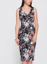 Jax - Floral Embroidered Mesh Dress, Multi, hi-res