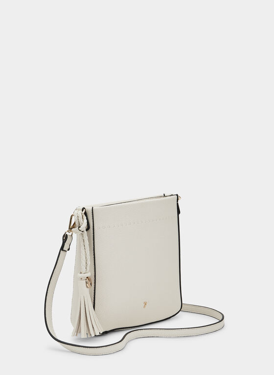 Square Crossbody Bag, Off White