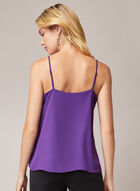 Ruffle Detail Camisole, Purple