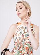 Maggy London - Robe fleurie ajustée et évasée, Multi, hi-res
