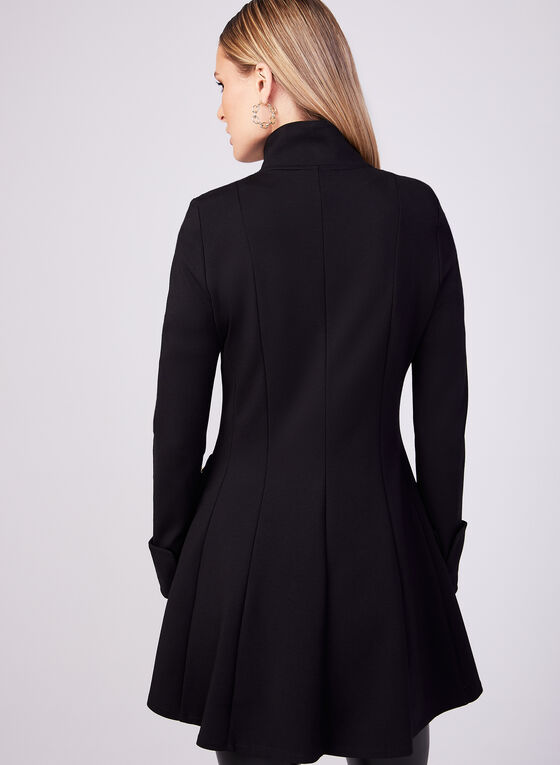 Joseph Ribkoff - Long Structured Jacket, Black