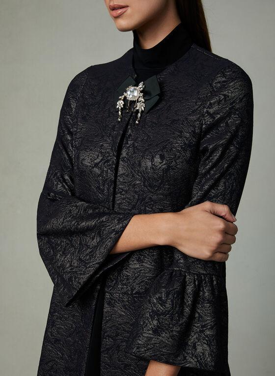Joseph Ribkoff - Notch Collar Jacket, Black, hi-res