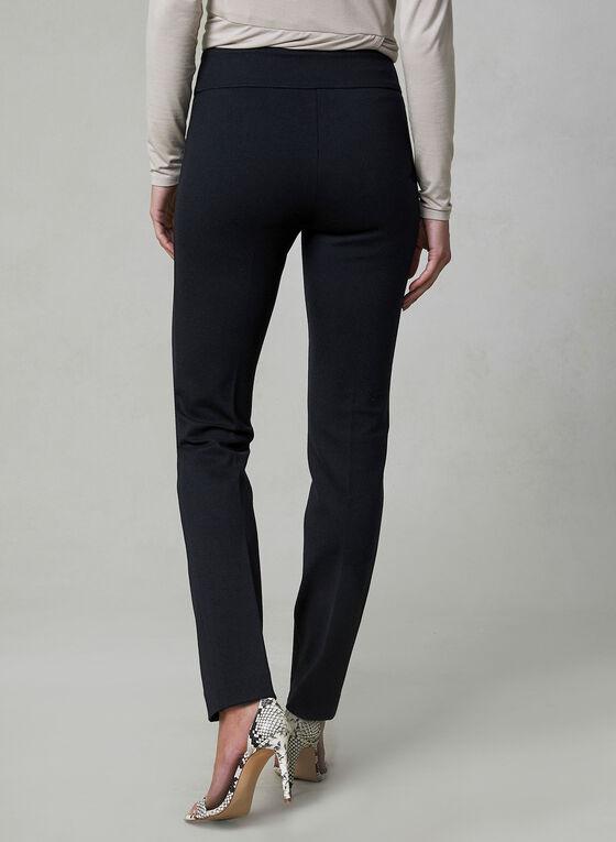 Madison Ponte de Roma Pants, Black, hi-res