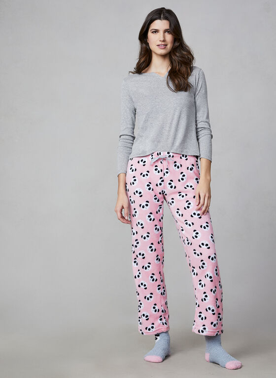 Pillow Talk - Three-Piece Pyjama Set, Pink