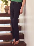Pantalon Lauren Petite à jambe droite , Bleu