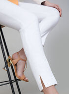 Pull-On Slim Leg Pants, White