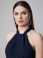 Julia Jordan - Halter Neck Jumpsuit, Blue, hi-res