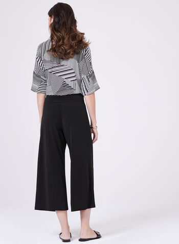 Clara Sunwoo - Pull-On Culottes, Black, hi-res