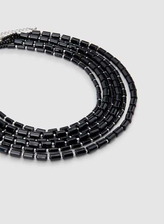 Multistrand Necklace, Black