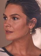 Ball Dangle Earrings, Gold
