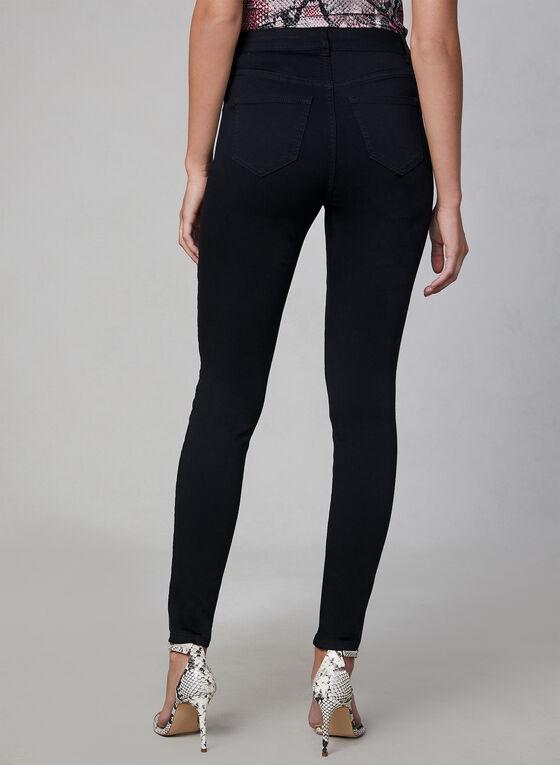 Jeans Superdoux à jambe étroite, Noir, hi-res