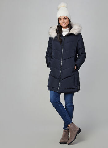 Novelti - Down Coat, Blue,
