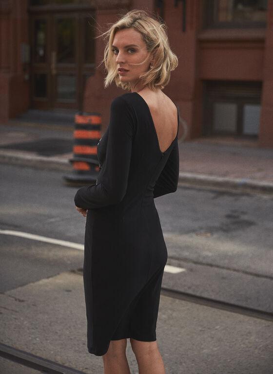 Joseph Ribkoff - Bead Detail Dress, Black