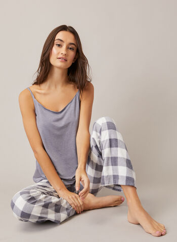 Spaghetti Strap Nightshirt, Grey,  fall winter 202, pyjama, top, straps