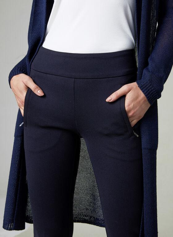 Pantalon Madison à poches zippées, Bleu