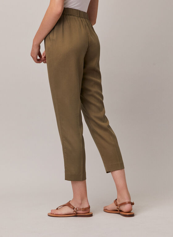 Emma Fit Tencel Pants, Green