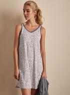 Claudel Lingerie - Cardigan & Nightgown Set, Grey