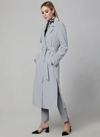 Novelti - Trench Coat, Grey, hi-res