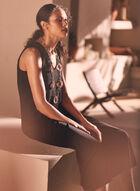 Joseph Ribkoff - Sleeveless Wide Leg Jumpsuit, Black