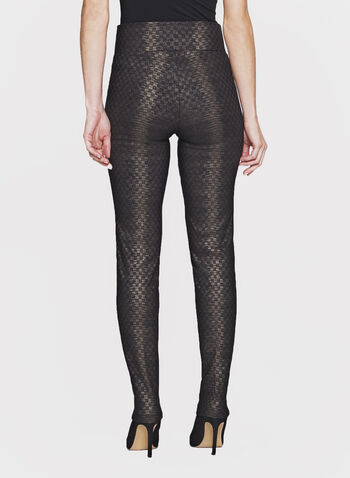Frank Lyman - Slim Leg Jacquard Pants, , hi-res