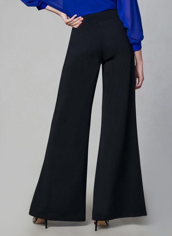 Joseph Ribkoff - Wide Leg Pants, Black