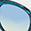 Rounded Cat Eye Sunglasses, Blue, swatch
