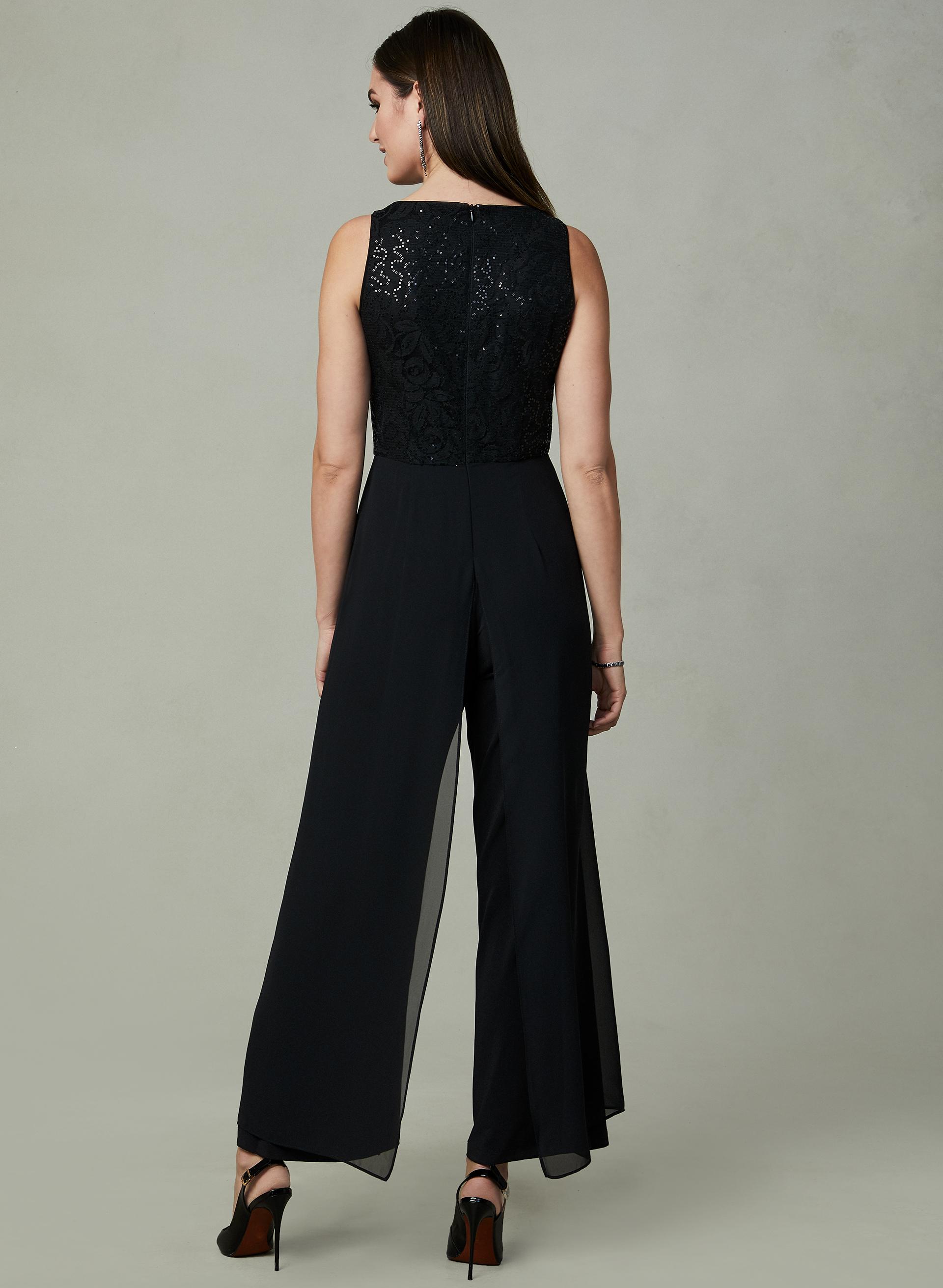 671ecfccb1 ... Maggy London - Sequin Lace Jumpsuit