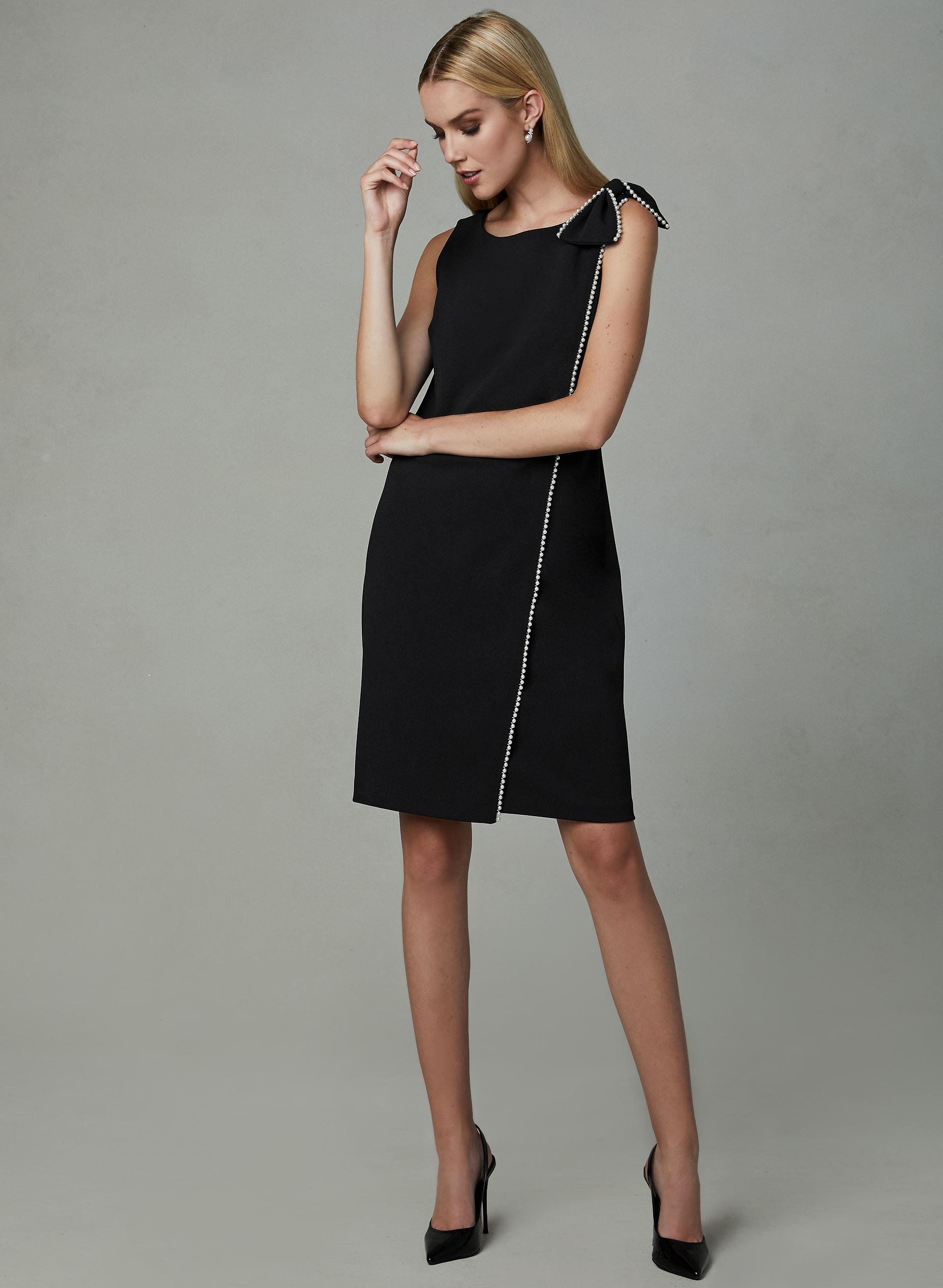 75a8d04de08 Karl Lagerfeld Paris - Faux Wrap Sheath Dress