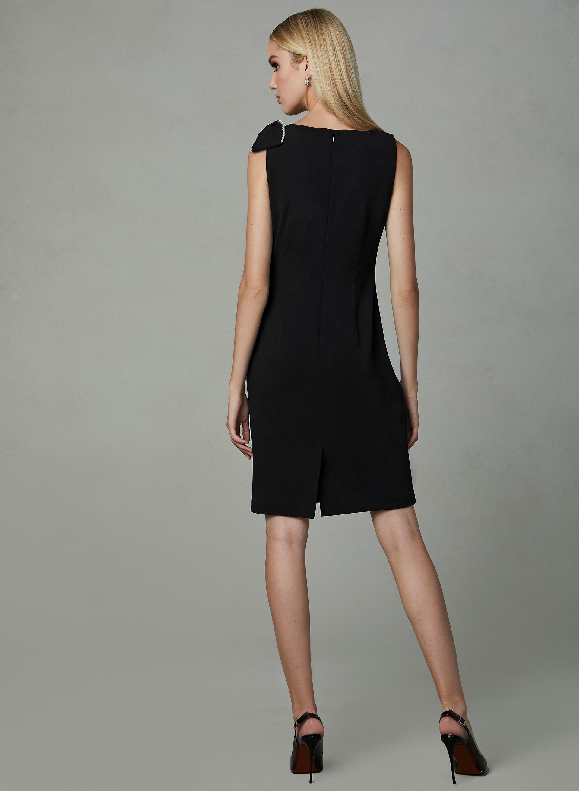 6e830341432 ... Karl Lagerfeld Paris - Faux Wrap Sheath Dress