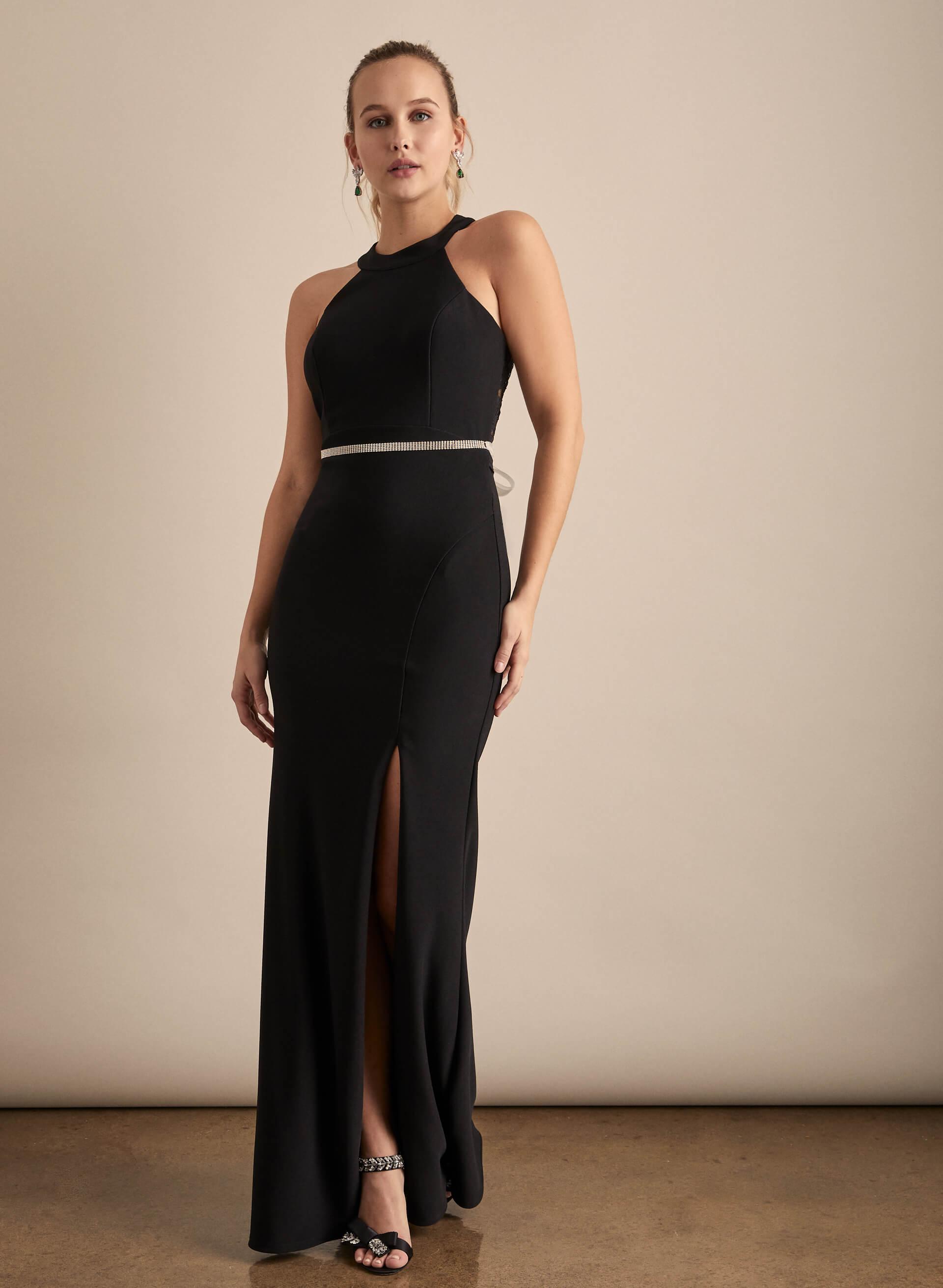 Prom - Melanie Lyne - 2020 - Crystal Doll - Robe fourreau à dos en dentelle