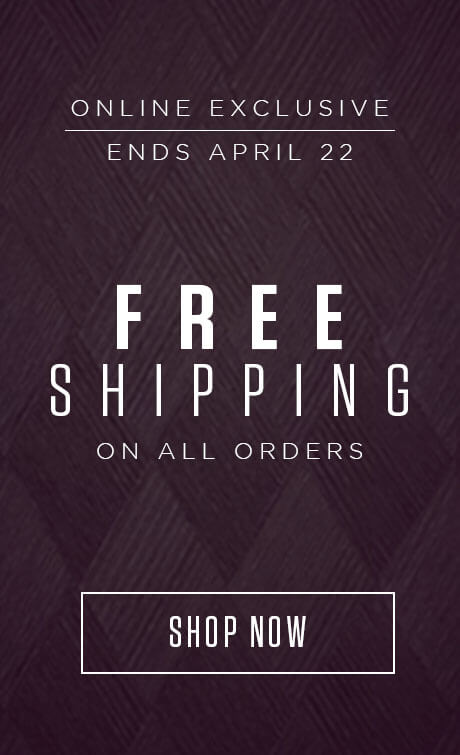Today only | Celebrate St-Patrick's Day with Free Shipping on all orders