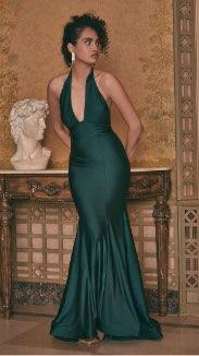Halter Neck Mermaid Dress