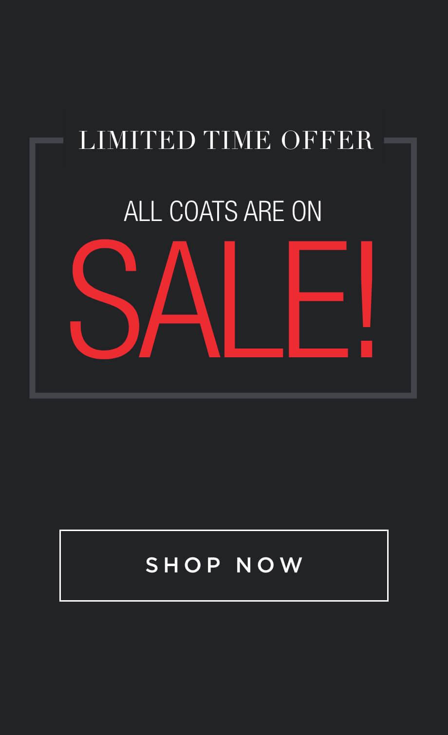 30% off Coats