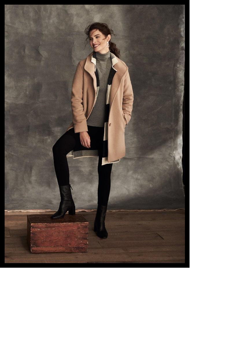 Mallia - Wool & Cashmere Blend Coat
