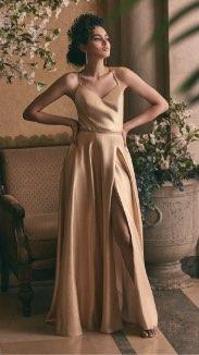Cachet - Metallic Glitter Dress