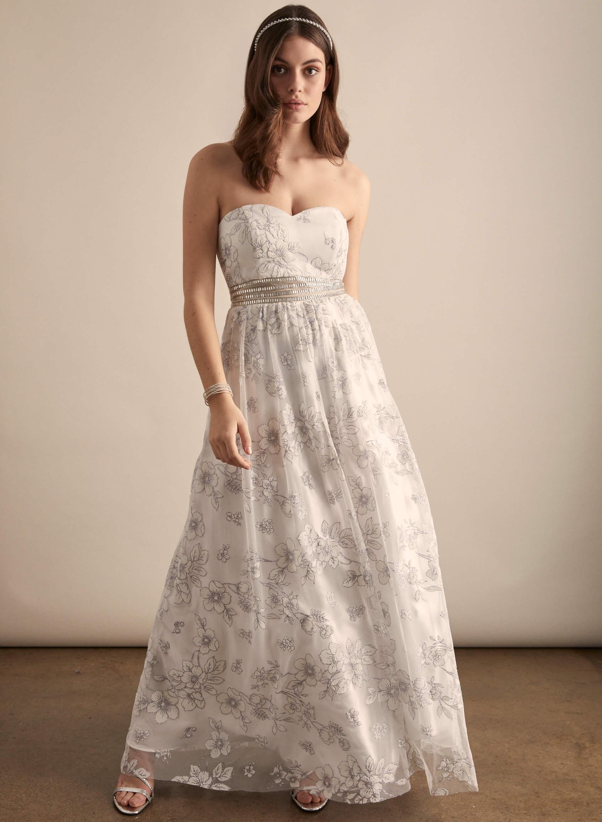 Prom - Melanie Lyne - 2020 - Cachet - Robe de bal bustier à broderies pailletées
